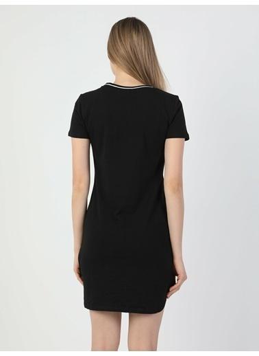 Colin's Slim Fit Kadın Siyah Elbise Siyah